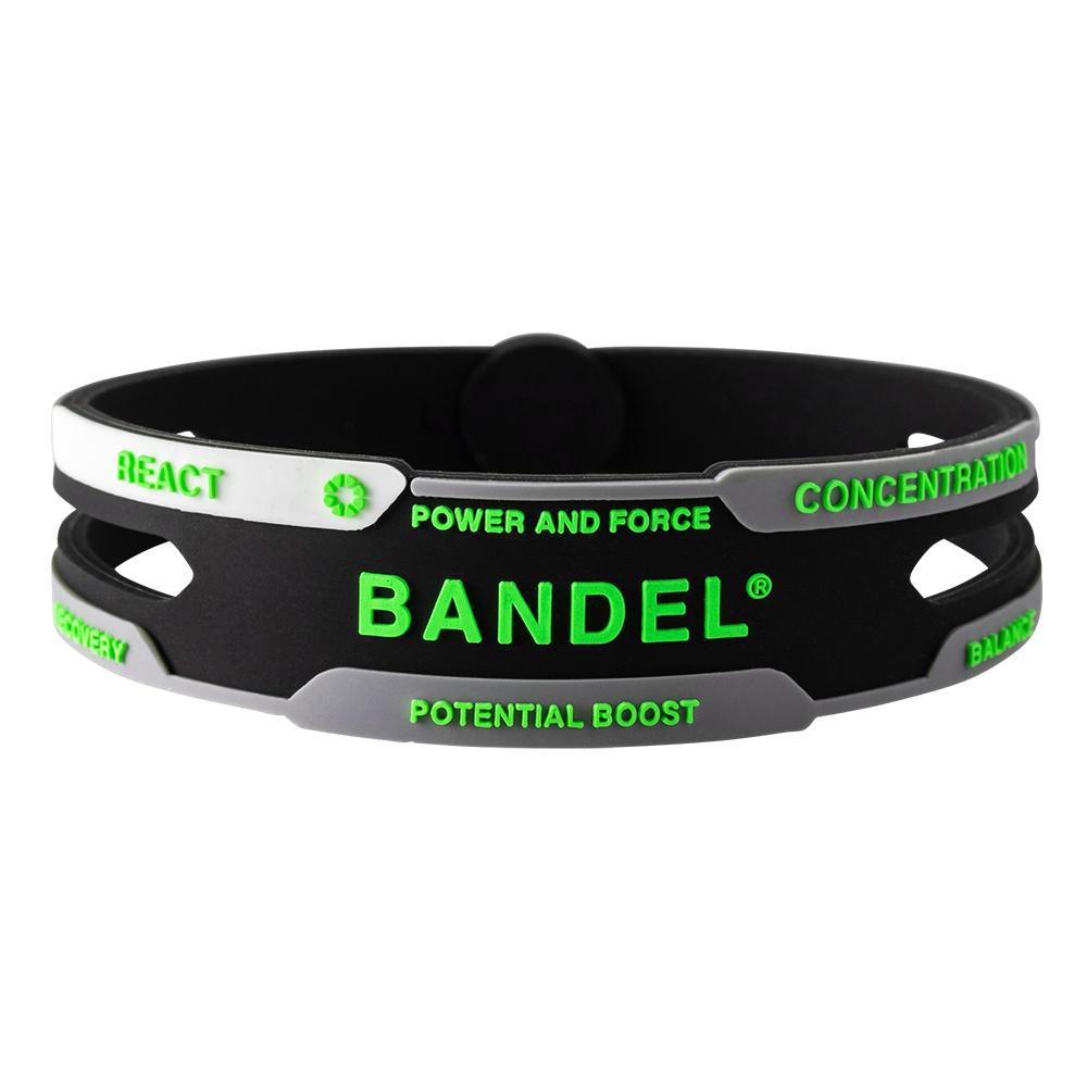 BANDEL ブレスレット REACT Black×Green