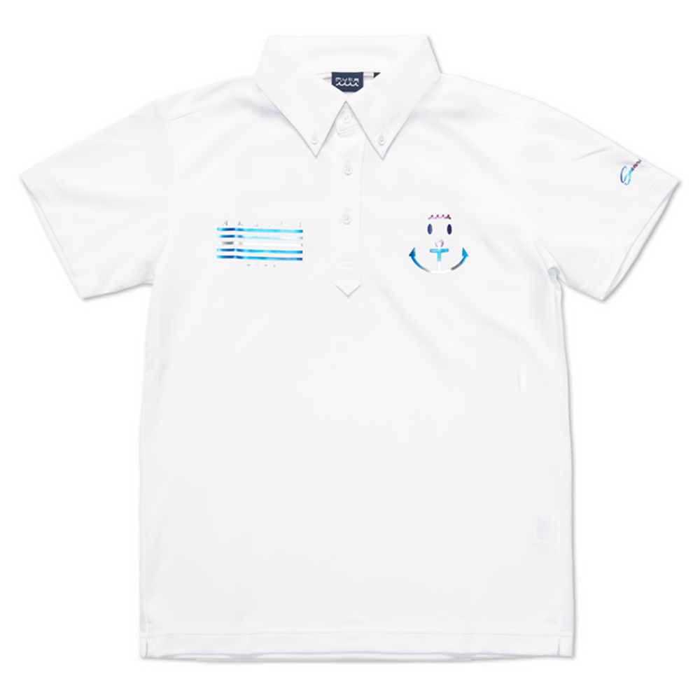 muta MARINE ポロシャツ MMAX-446093 WHITE