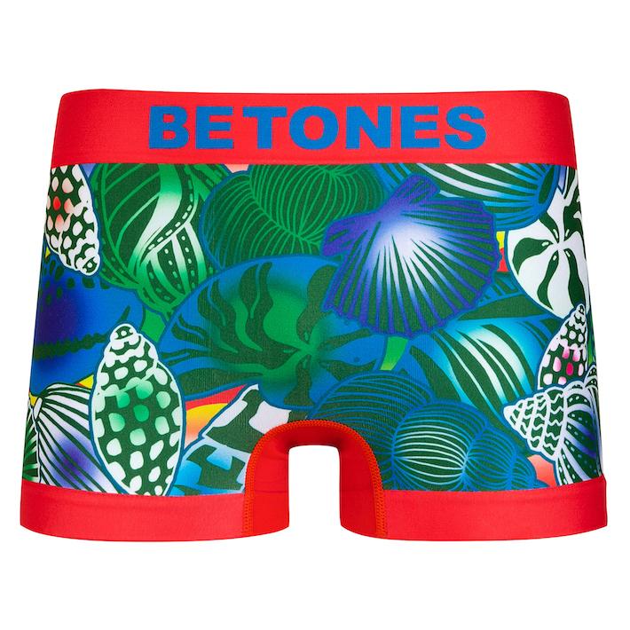 BETONES ビトーンズ MENS ボクサーパンツ SHELL RED