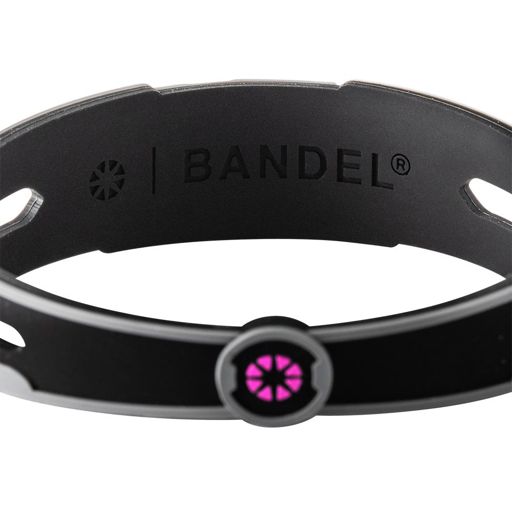 BANDEL ブレスレット REACT Black×Pink