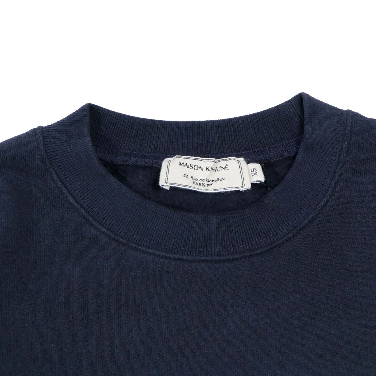 MAISON KITSUNE スウェット REGULAR SWEAT NAVY