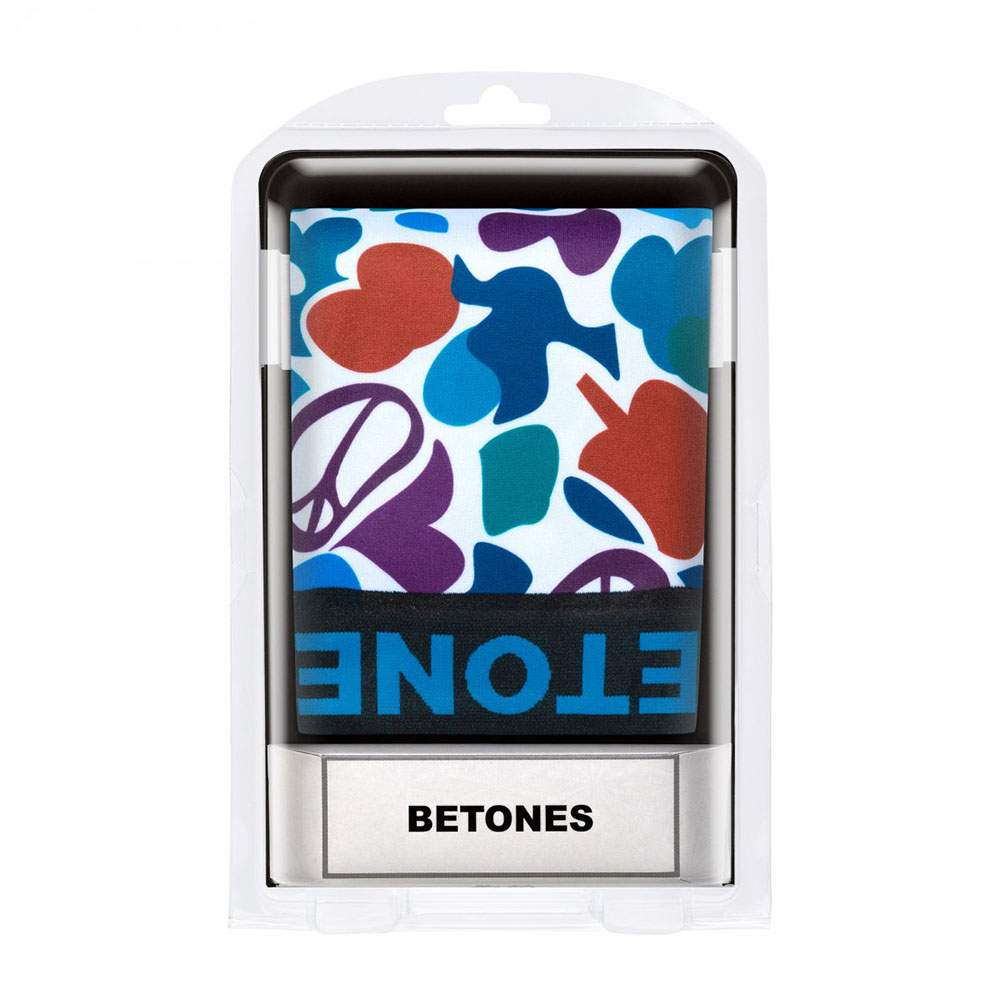 BETONES ボクサーパンツ PEACE6-PE006 GREEN