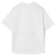 H.I.P. by SOLIDO×LEADER DELTA Tシャツ SOLOTEX LOOSE CREWNECK HALF SLEEVE T MHSL21S0828-M WHITE