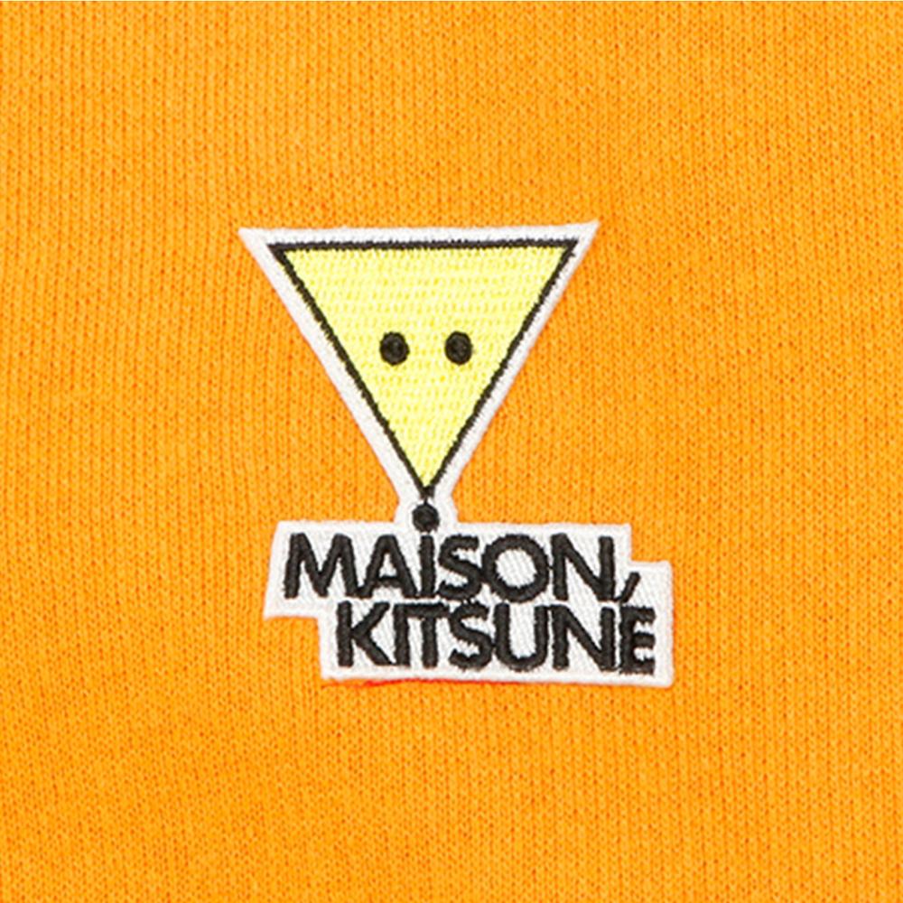 MAISON KITSUNE スウェット REGULAR SWEAT ORANGE
