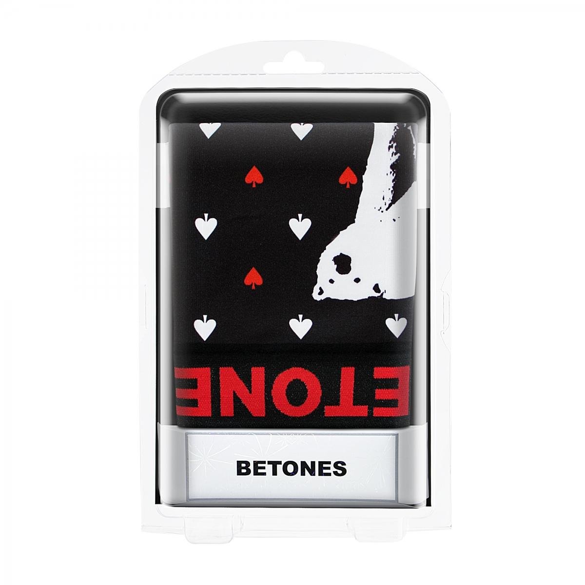 BETONES ビトーンズ ボクサーパンツ ANIMAL4 D004 POLAR BEAR BLACK