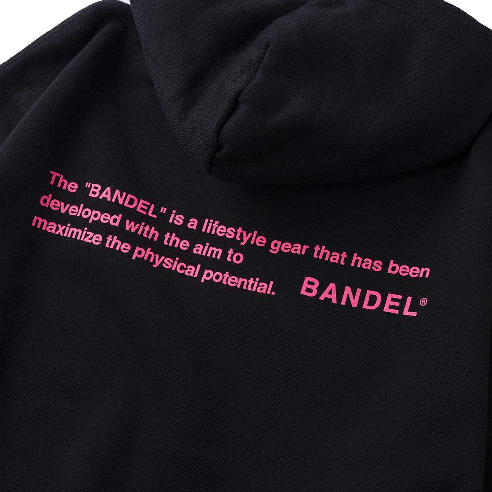 BANDEL フーディー GHOST Concept Notes BAN-HD017 BlackxNeonPink