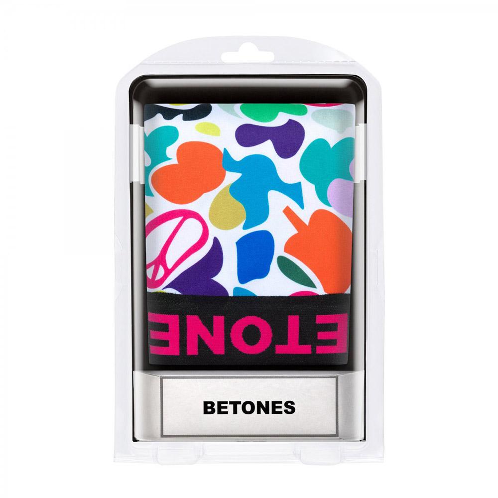 BETONES ボクサーパンツ PEACE6-PE006 PINK