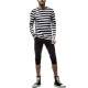 RESOUND CLOTHING ショーツ RE cropped PT RC19-HP-001 BLACK