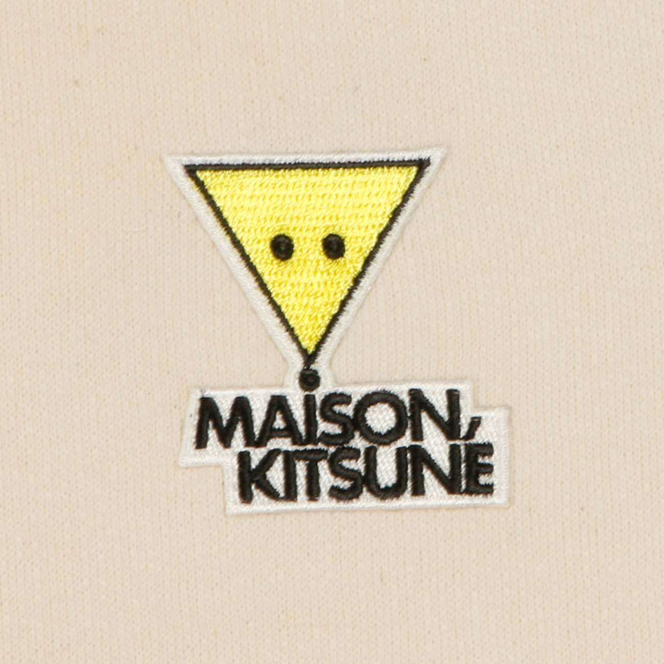 MAISON KITSUNE スウェット REGULAR SWEAT WHITE