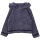 BAREFOOT DREAMS Kids Zip-up Hoodie DKCC1043 Deep Sea Blue