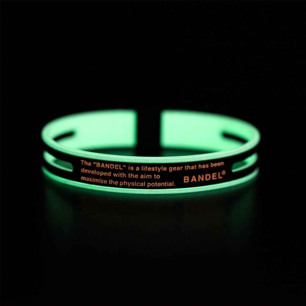BANDEL ブレスレット GHOST Luminous  NEONxORANGE