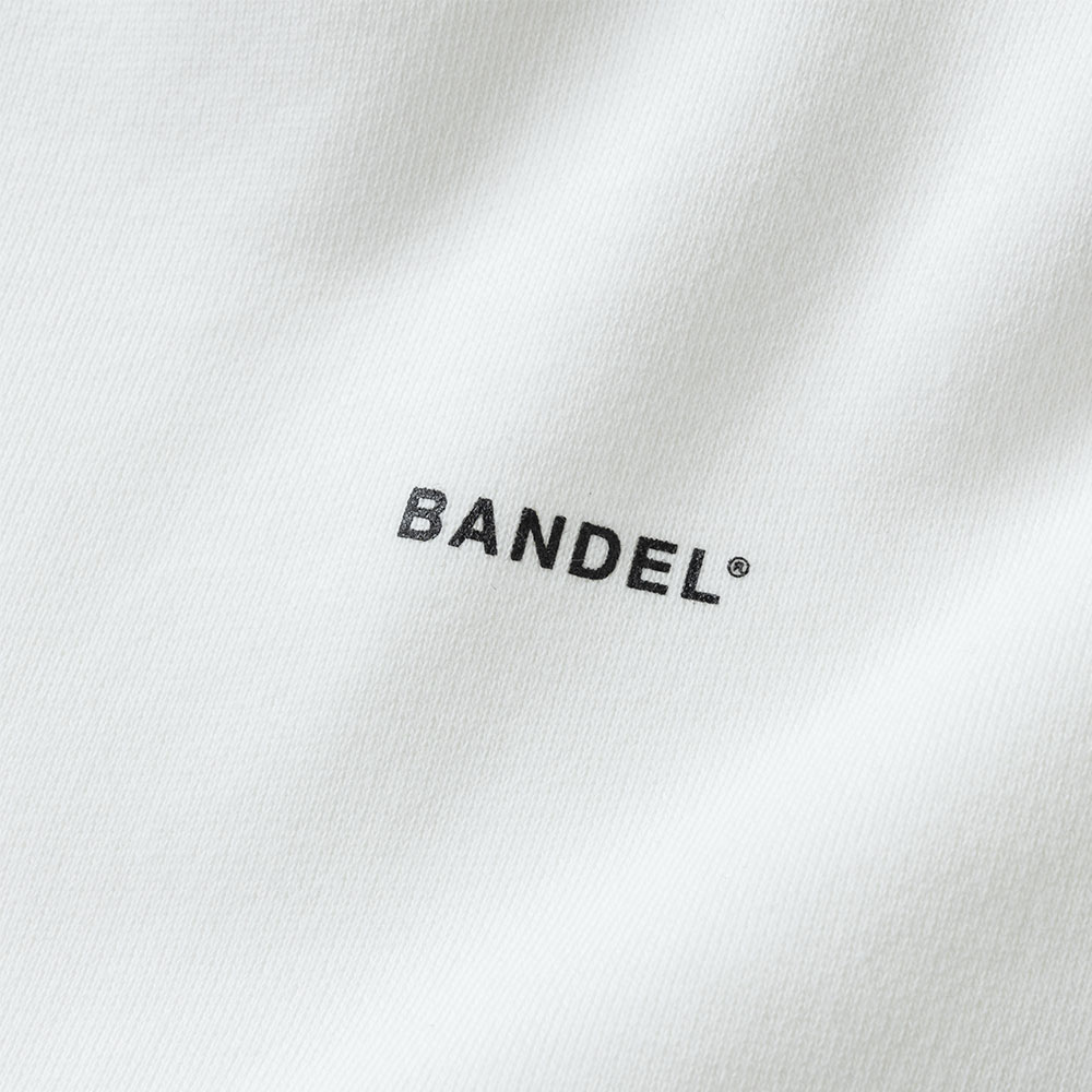 BANDEL フーディー GHOST Concept Notes BAN-HD017 WhitexNeonBlue