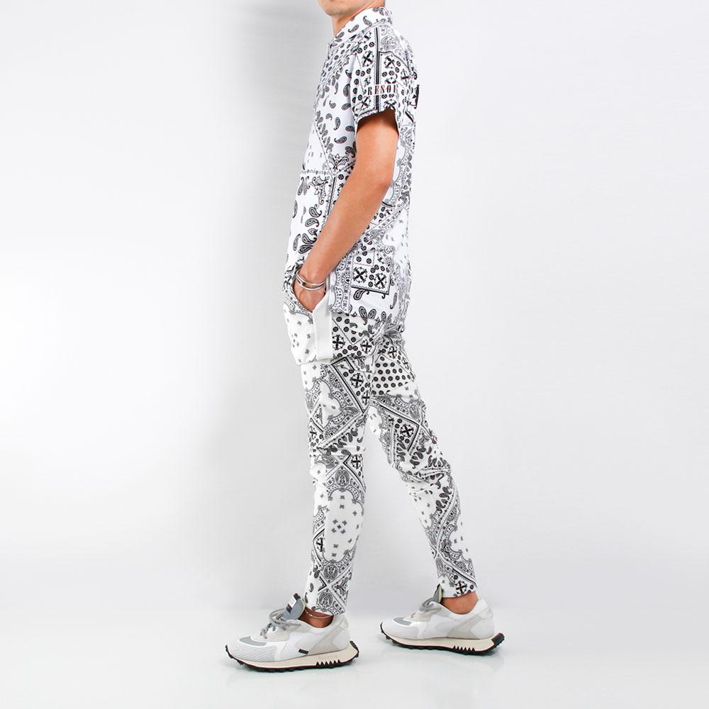 RESOUND CLOTHING パンツ SLASH LINE PT RC21-ST-012 BANDANA WH