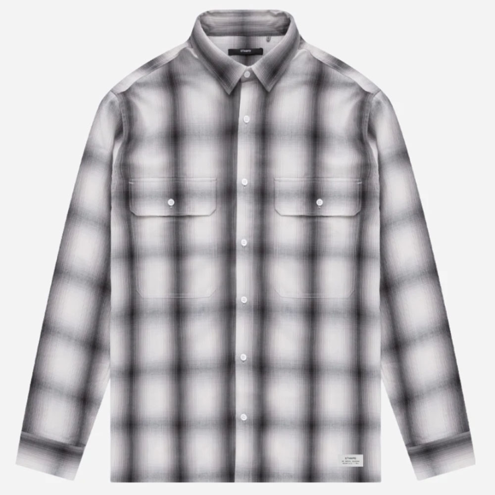STAMPD シャツ Templin Button Down SLA-M 2288BD GREY