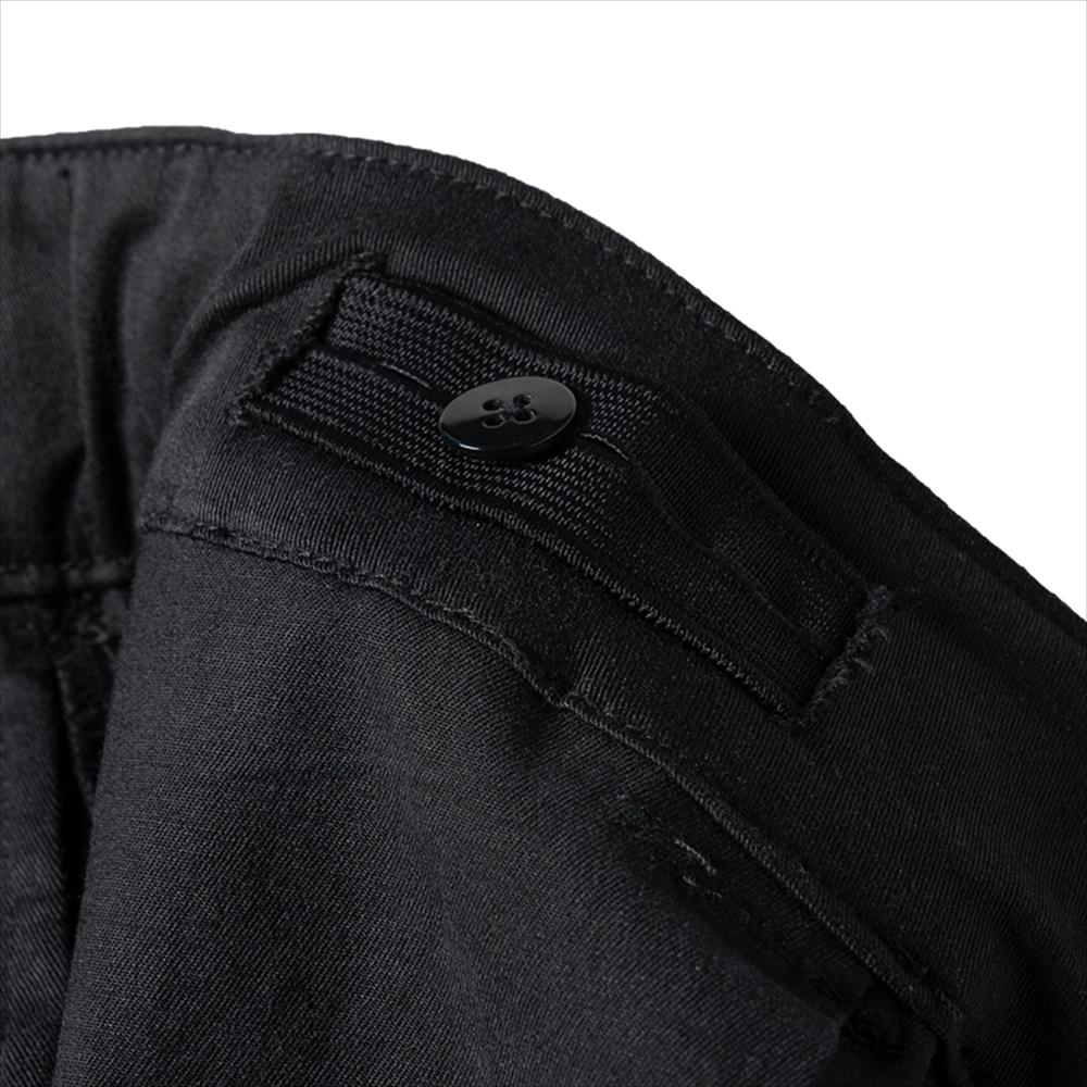 BANDEL パンツ STRECH TAPERED PANT BG-STP001 BLACK