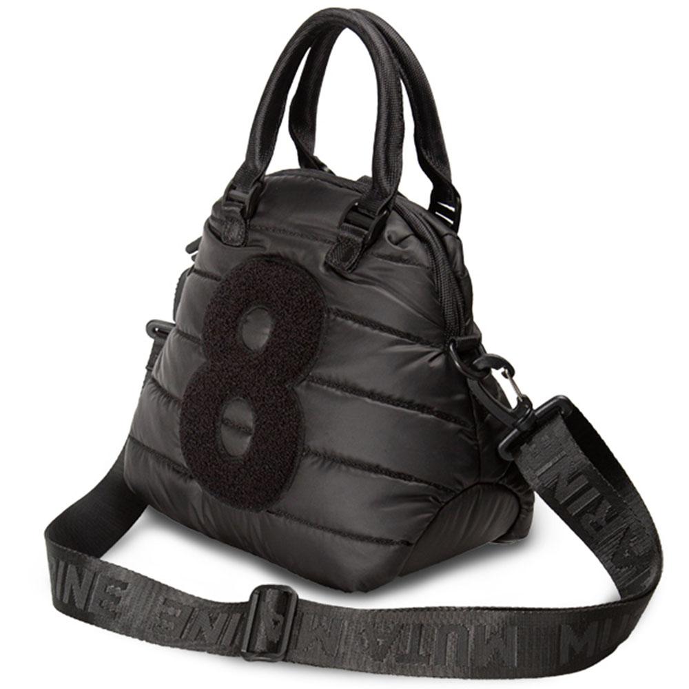 muta 8バッグ ナイロンキルティング MMBC-200409 BLACK