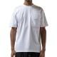 STAMPD Tシャツ Ssport Logo Pocket Tee SLA-M2616TE WHITE