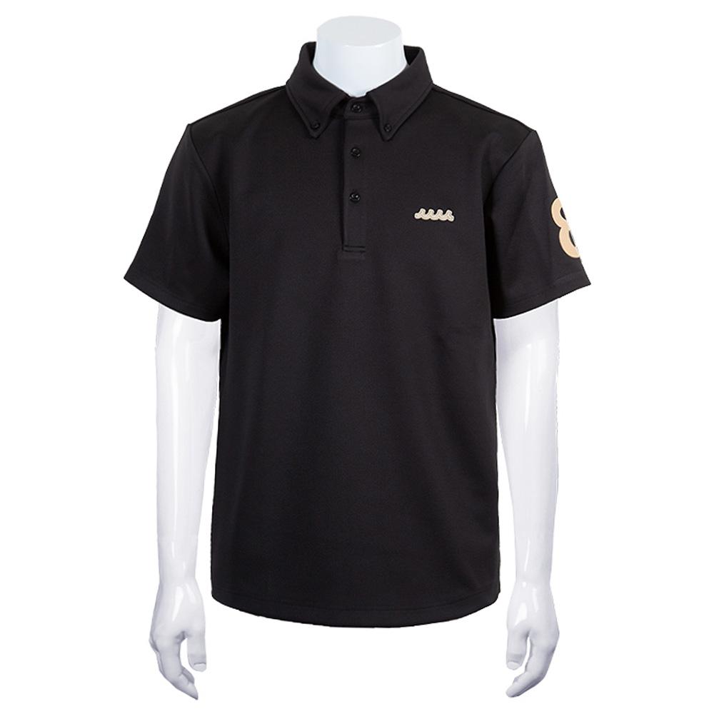 muta MARINE ポロシャツ BACK 5LINE MGAX-446072 NAVY