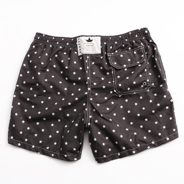 MACCHIA J. ショーツ 18SMB SHORT ALL ATAR BLACK