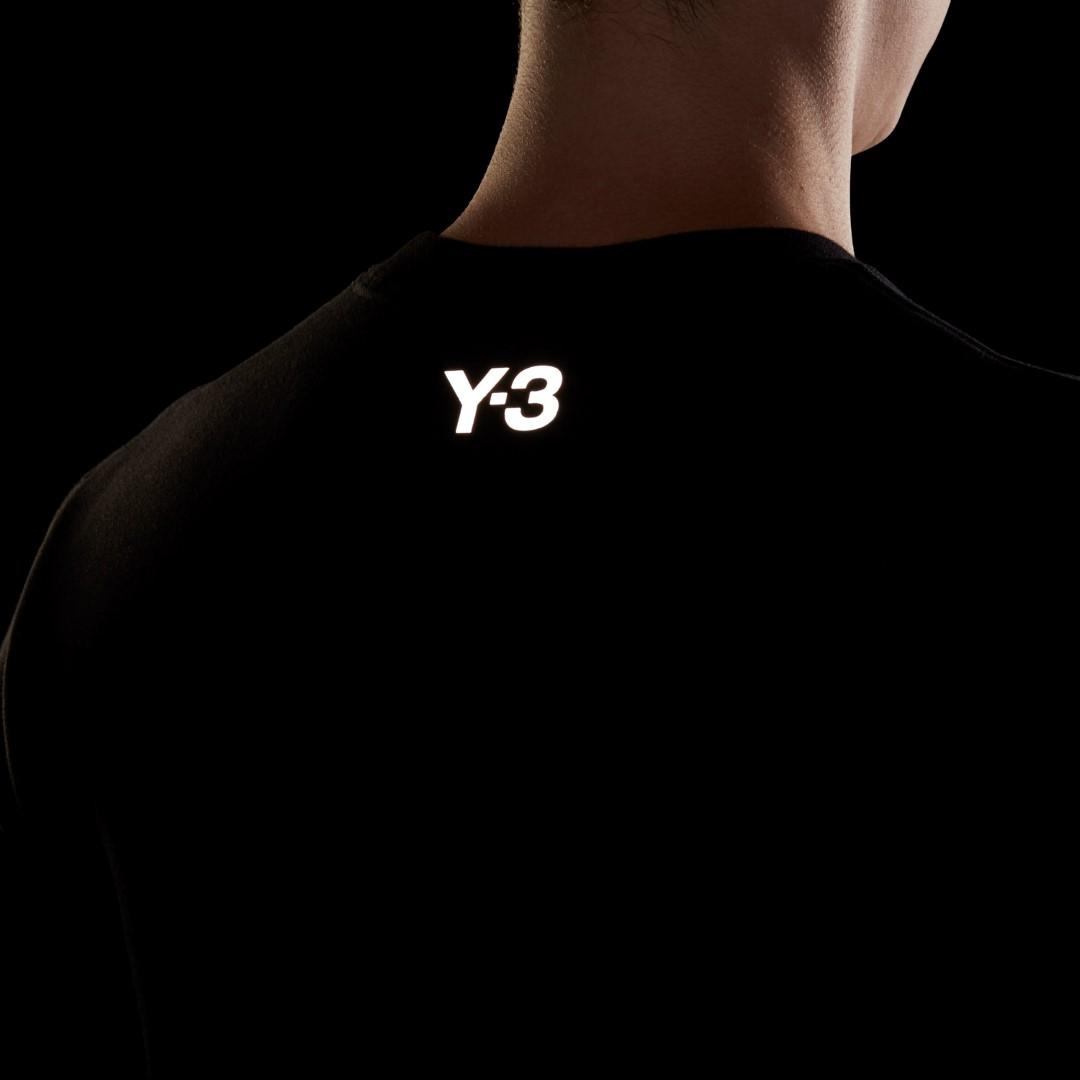 Y-3 ワイスリー スウェット M CH1 GFX CREW SWEATSHIRT BLACK