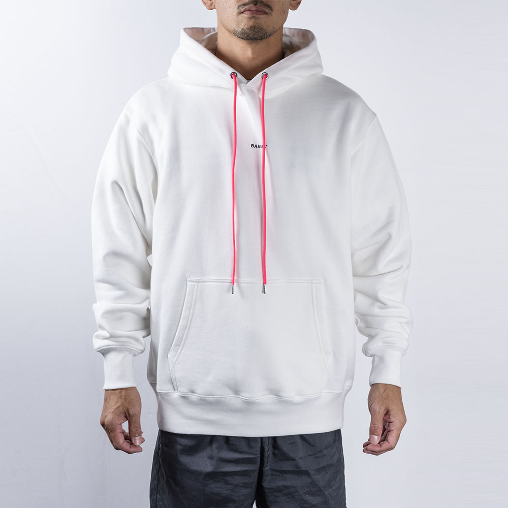 BANDEL フーディー GHOST Concept Notes BAN-HD017 WhitexNeonPink