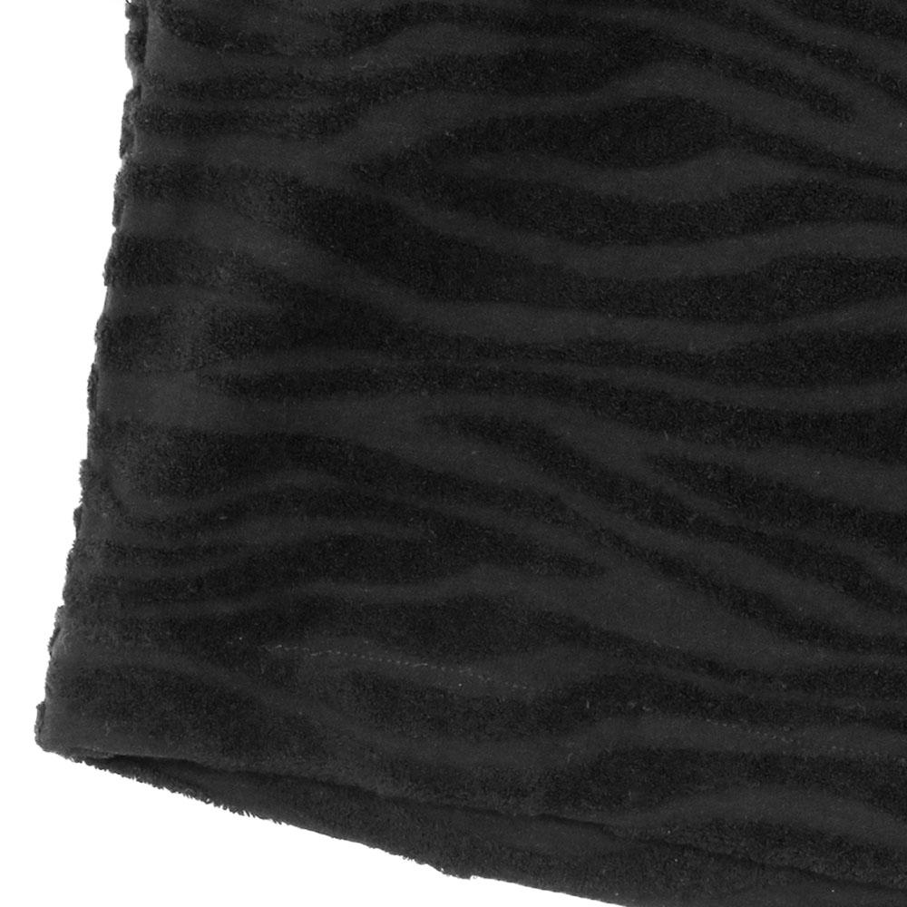 Seagreen ショーツ ZEBRA PILE JQ SHORTS MSEA21S5042-S BLACK