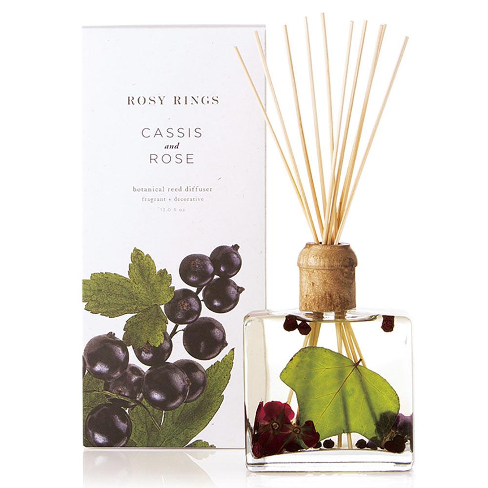 ROSY RINGS ディフューザー Japan's Premier CASSIS & ROSE 390ml