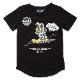 muta MARINE キッズTシャツ MMMP-434162 BLACK