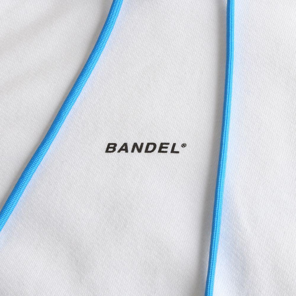 BANDEL フーディー GHOST XL-LOGO HD007 WHITExBLUE