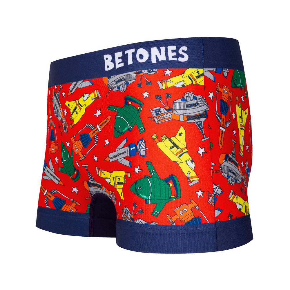 BETONES ボクサーパンツ THUNDERBIRD-THUN001 RED
