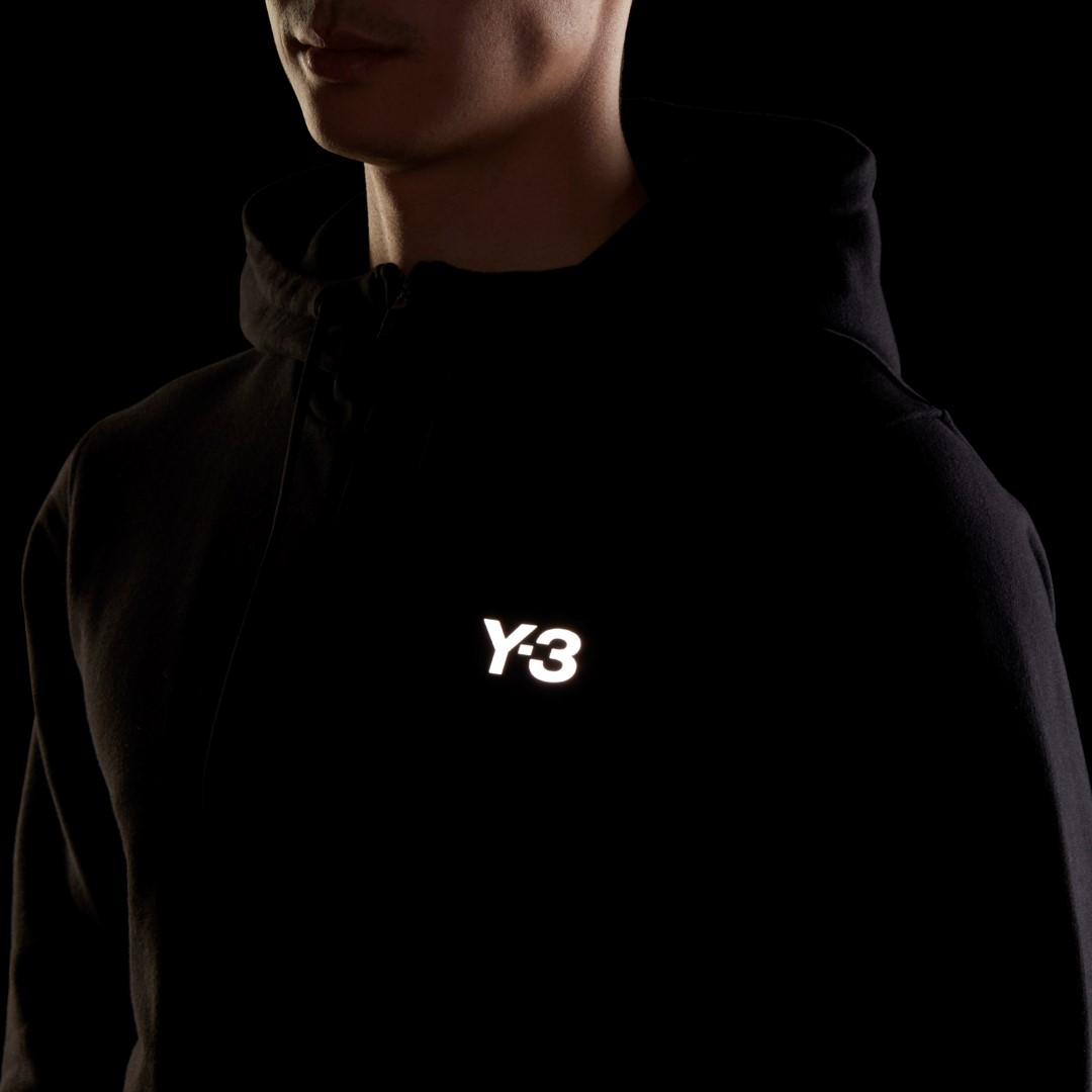Y-3 ワイスリー フーディー M CH1 GFX HOODIE GK4402 BLACK