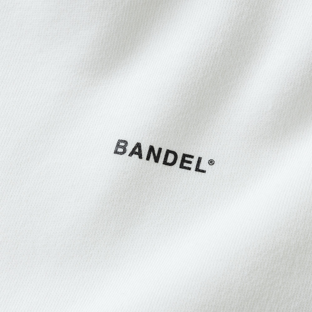BANDEL フーディー GHOST Concept Notes BAN-HD017 WhitexBlack
