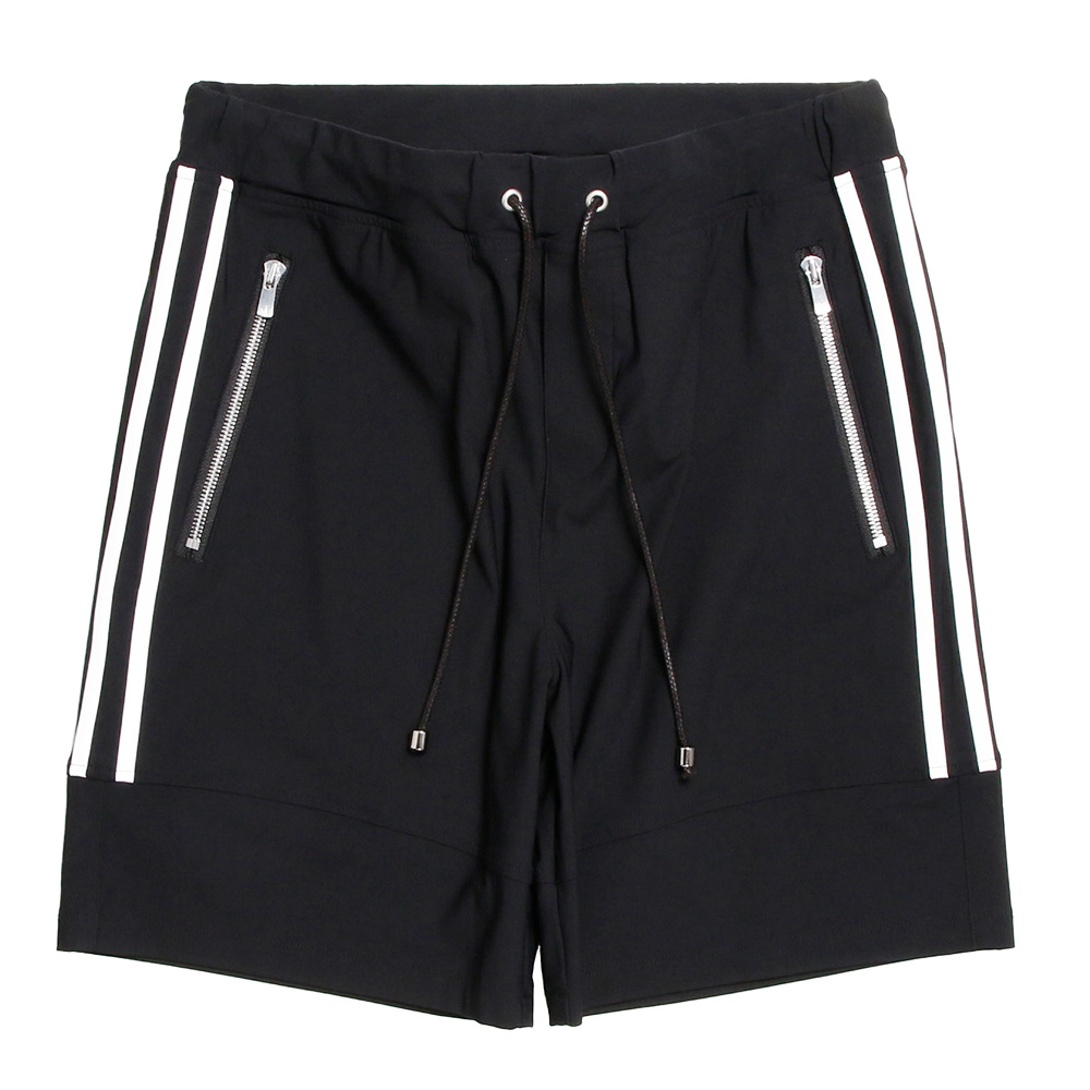 RESOUND CLOTHING ショーツ Johnson NYLON HP RC20-HP-001 BLACKxWHITE