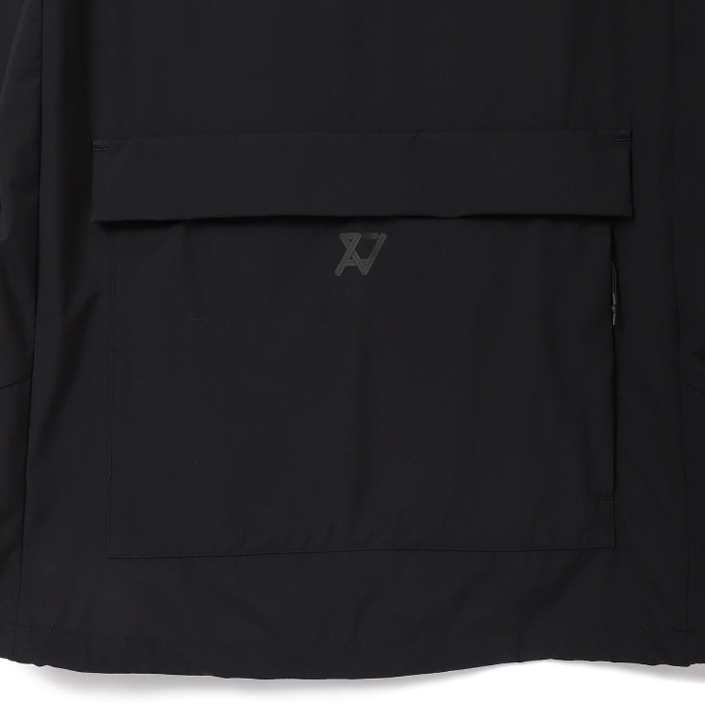 H.I.P. by SOLIDO アノラックジャケット 3LAYER TRICOT CLOTH BLACK