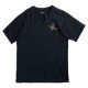 1PIU1UGUALE3 RELAX Tシャツ サガラVネック ust20006 BLACK