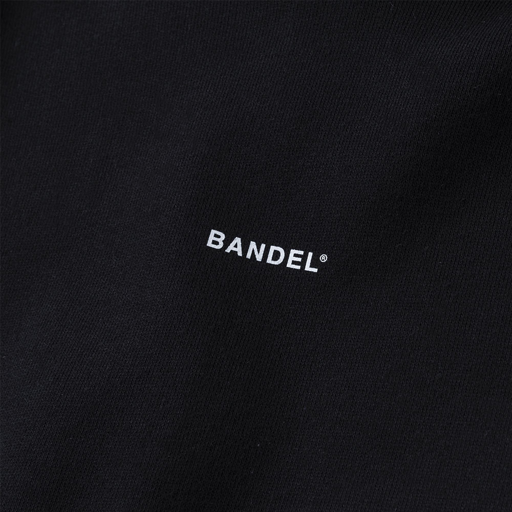 BANDEL フーディー GHOST Concept Notes BAN-HD017 BlackxWhite