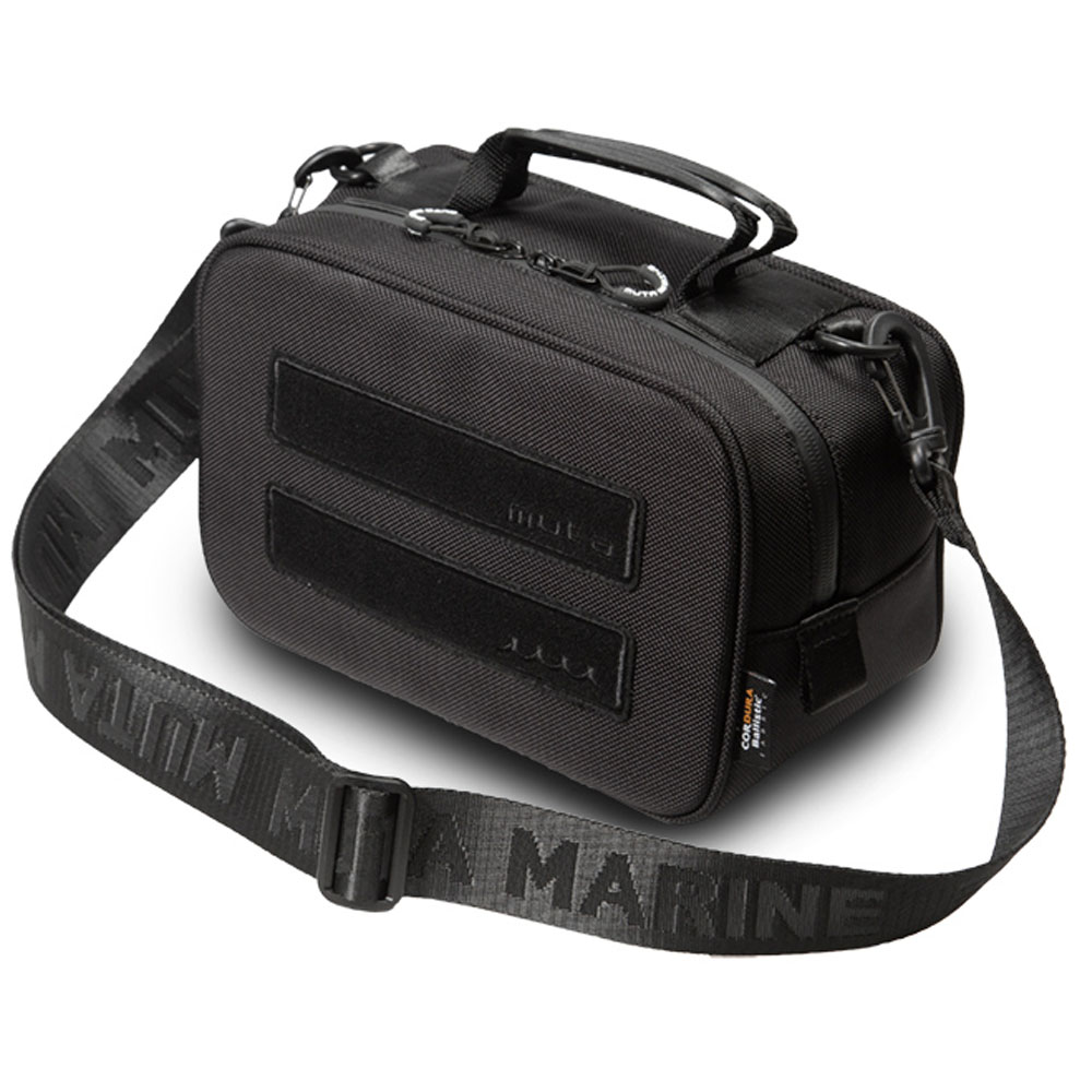 muta MARINE バッグ ベルクロポーチ MMBC-200210 BLACK