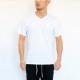 1PIU1UGUALE3 RELAX Tシャツ サガラVネック ust20006 WHITE