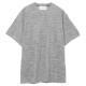 Seagreen Tシャツ ZEBRA PILE JQ MSEA21S8206-M GREY