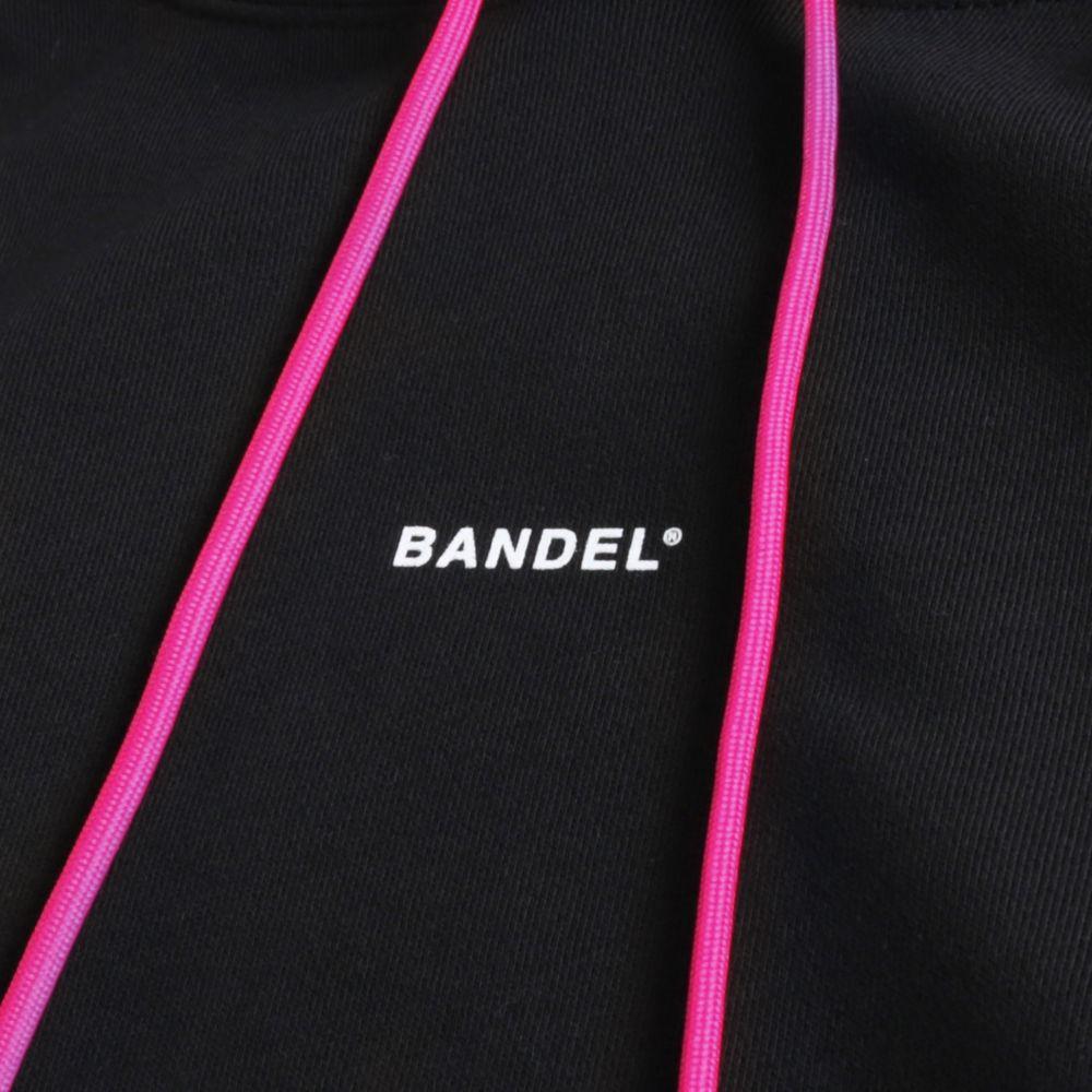 BANDEL フーディー GHOST XL-LOGO HD007 BLACKxPINK