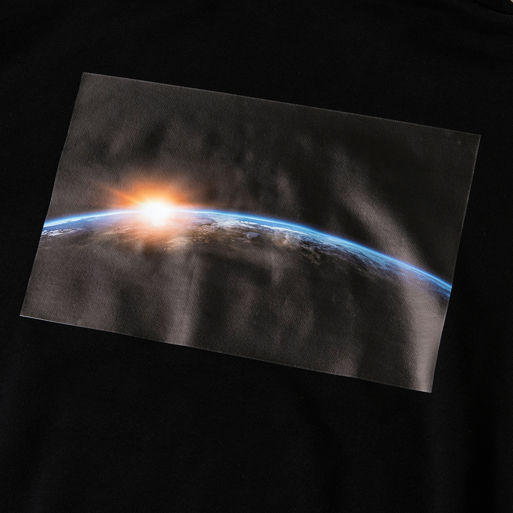 BANDEL フーディー Earth Photo Design BAN-HD013 Black
