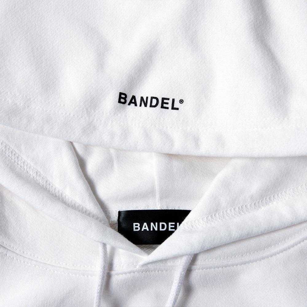 BANDEL フーディー Earth Photo Design BAN-HD013 White