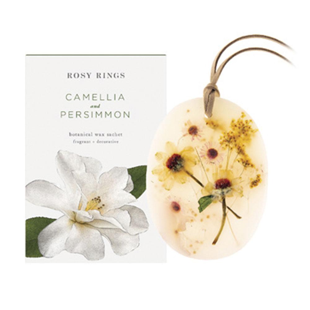 ROSY RINGS サシェ Japan's Premier CAMELLIA & PERSIMMON
