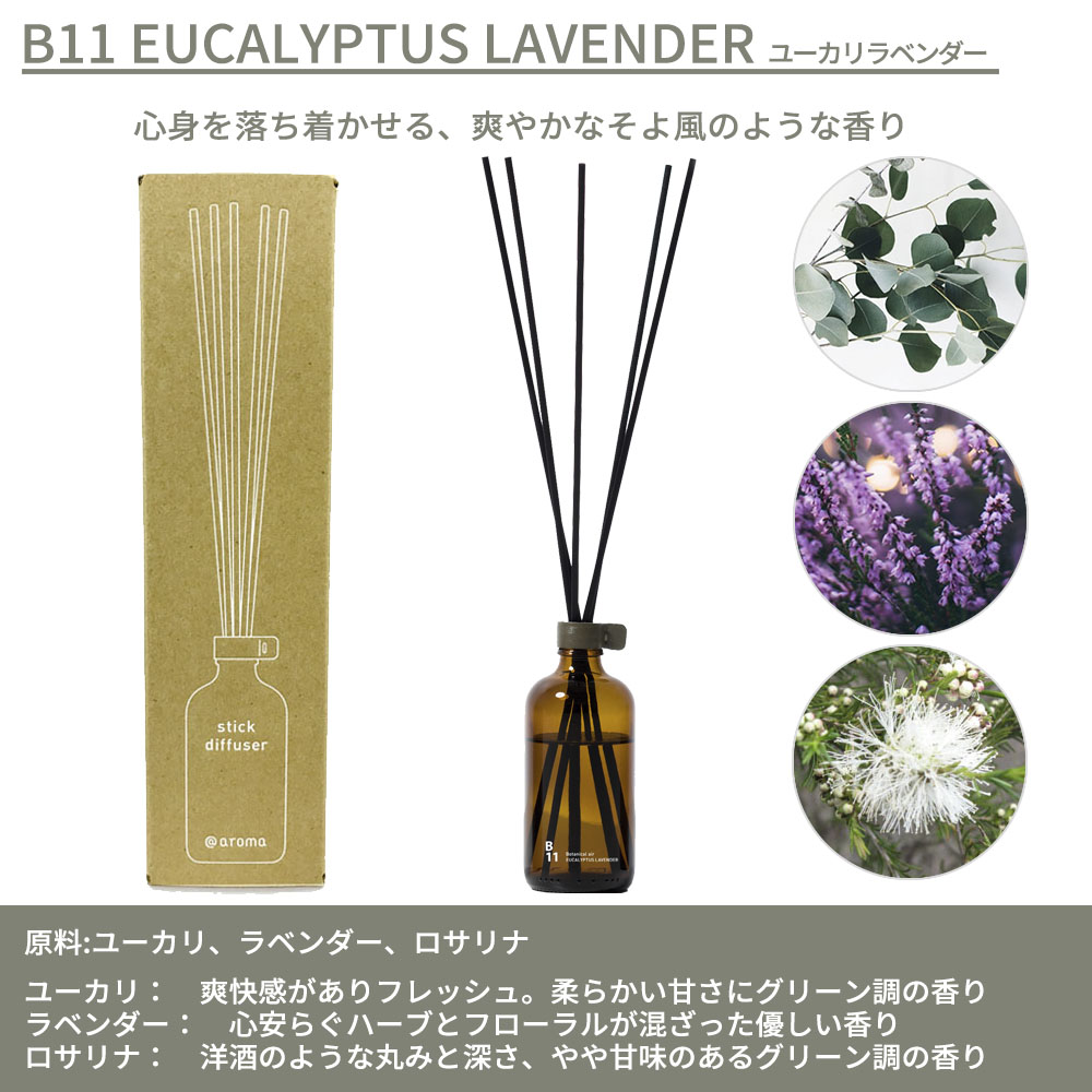 @aroma スティックディフューザー Botanical Air, Design air, Japanese Design air