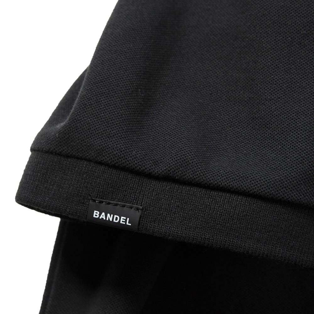 BANDEL ポロシャツ FUCKIN'SHOT GOLF POLO BG-FSPL001 BLACKxWHITE