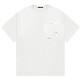 STAMPD Tシャツ Lennox Perfect Pocket Tee SLA-M2719TE WHITE
