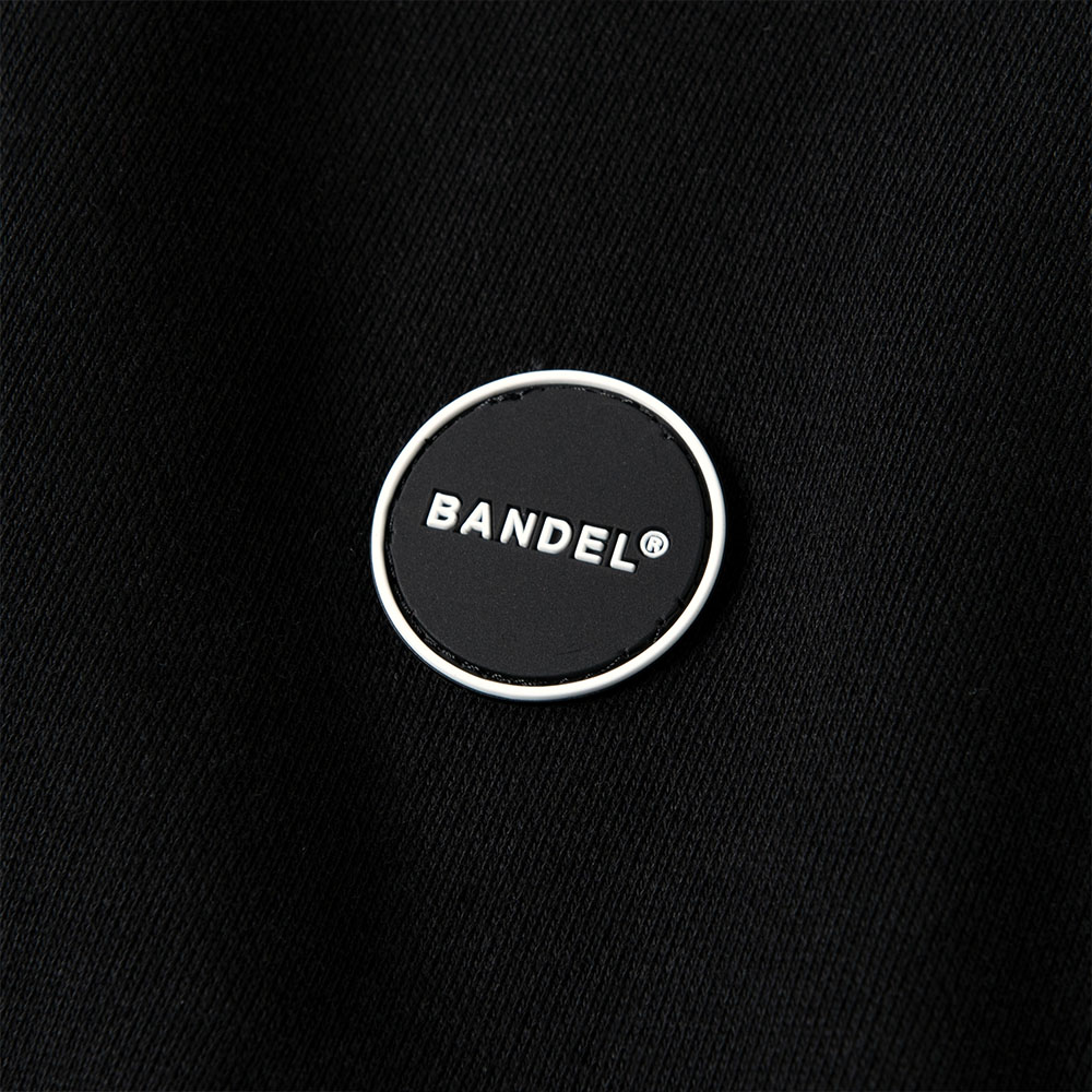BANDEL フーディー Silicon Logo BAN-HD014 Black