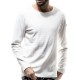 RESOUND CLOTHING ロンT ST COTTON waffle Thermal RC19-C-001 WHITE