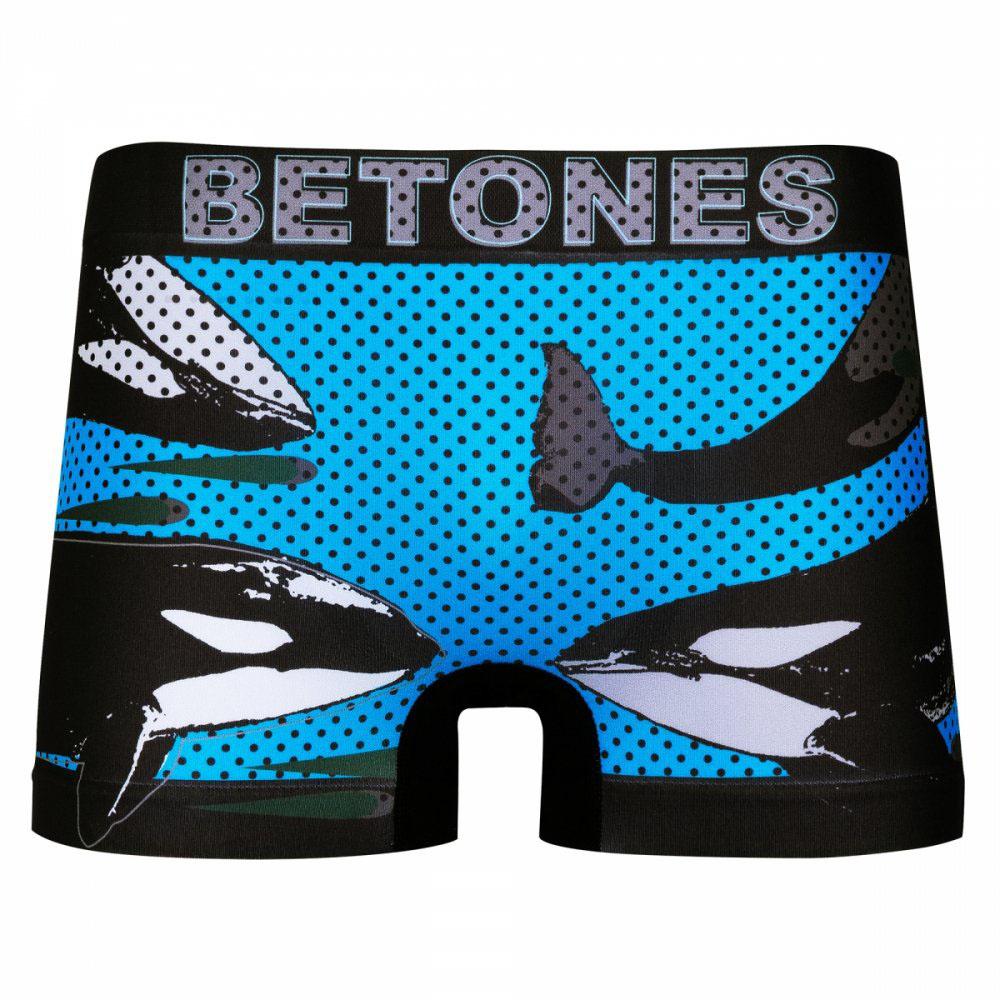 BETONES ボクサーパンツ ANIMAL-D004 BLUE