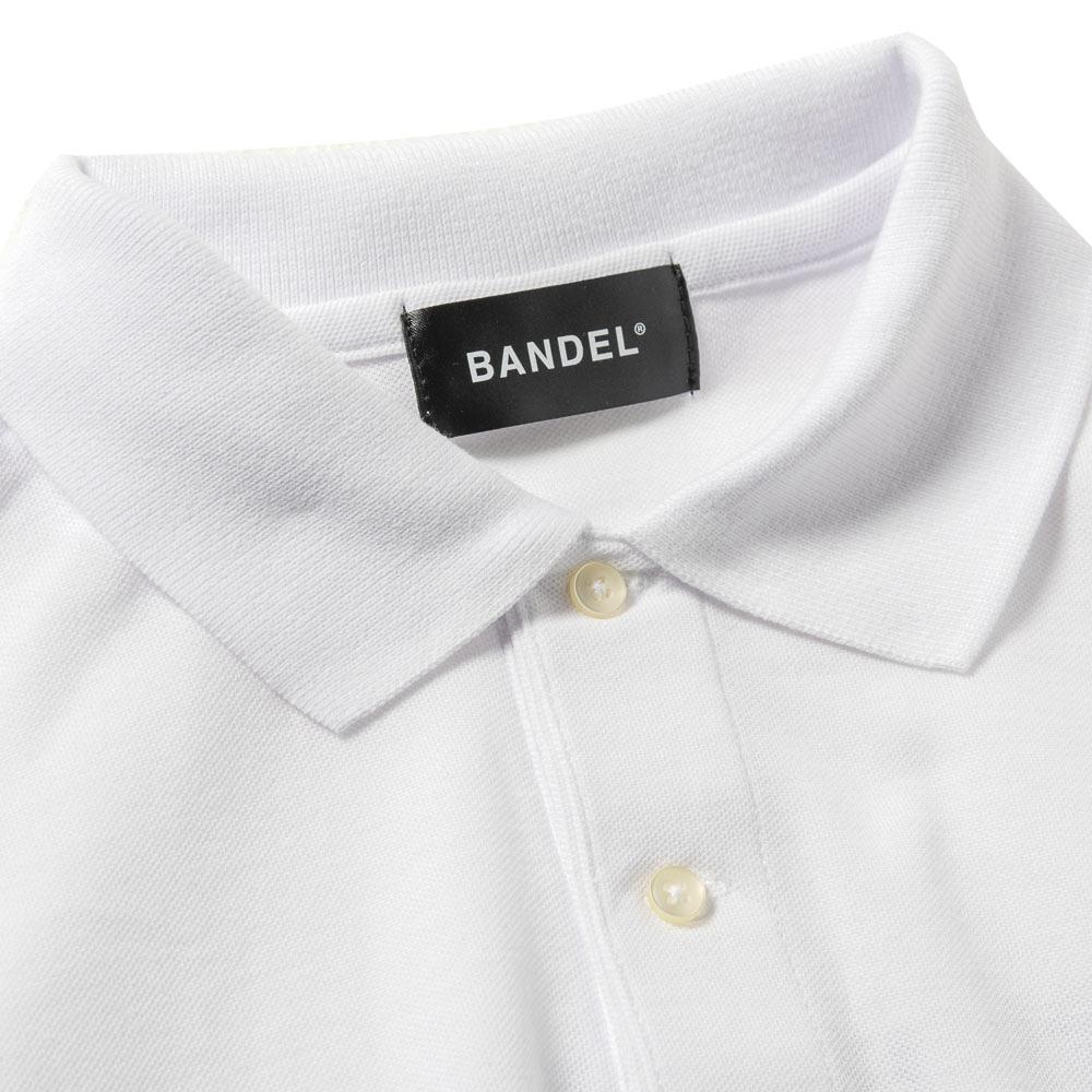 BANDEL ポロシャツ FUCKIN'SHOT GOLF POLO BG-FSPL001 WHITExBLACK